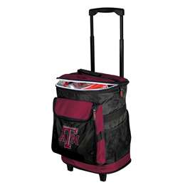 Texas A&M Aggies 48 Can Rolling Cooler