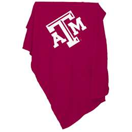 Texas A&M Aggies Sweatshirt Blanket 74 -Sweatshirt Blnkt