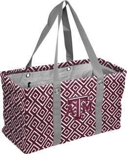 Texas A&M Aggeis  Double Diamond Picnic Caddy