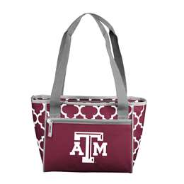 Texas A&M Aggies 16 Can Cooler Tote Bag