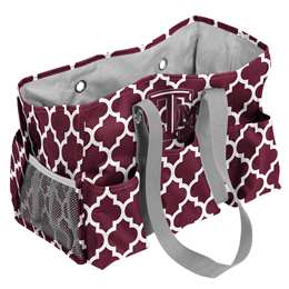 Texas A&M Quatrefoil Jr Caddy