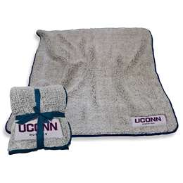 "University of Connecticut Huskies Frosty Fleece Blanket 60"" X 50"""