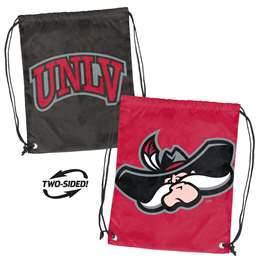 UNLV University of Nevada Las Vegas Runnin Rebels Doubleheader Back Sack