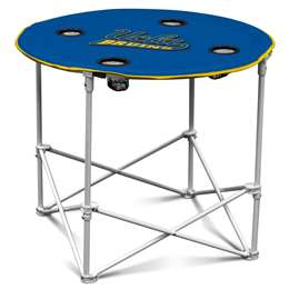 UCLA Bruins Round Folding Table with Carry Bag