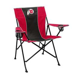 University of Utah Utes Pregame Folding Chair with Carry Bag