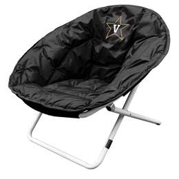 Vanderbilt University Commodores Sphere Chair - Folding Dorm Room Tailgate