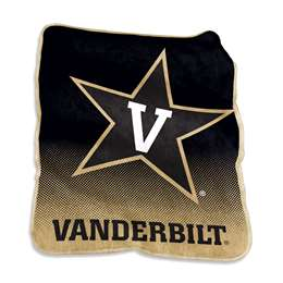 Vanderbilt University Commodores Raschel Throw Blanket