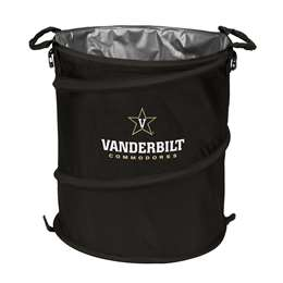 Vanderbilt University Commodores 3-IN-1 Cooler Trash Can Hamper