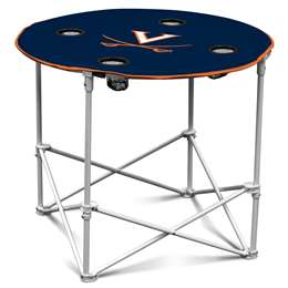 University of Virginia Cavaliers Round Table Folding Tailgate