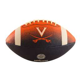 University of Virginia Cavaliers Junior Size Rubber Football