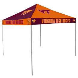 Virginia Tech Hokies 9 X 9 Checkerboard Canopy - Tailgate Tent