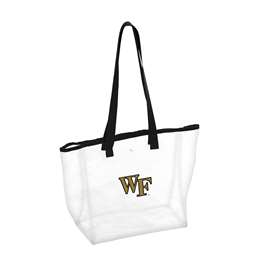 Wake Forest University Deamon Decons Clear Stadium Bag