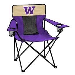 University of Washington Huskies Elite Folding Chair with Carry Bag