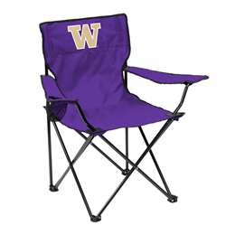 University of Washington Huskies Quad Folding Chair with Carry Bag