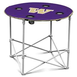 University of Washington Huskies Round Table Folding Tailgate