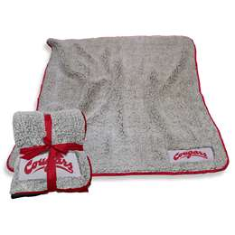 "Washington State University Cougars Frosty Fleece Blanket 60"" X 50"""