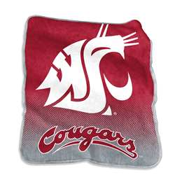 Washington State University Cougars Raschel Throw Blanket - 50 X 60 in.