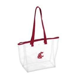 Washington State University Cougars Clear Stadium Bag
