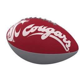 Washington State University Cougars Junior Size Rubber Football