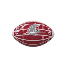 Washington State University Cougars Field Mini-Size Glossy Football 93MG - MS Glossy FB