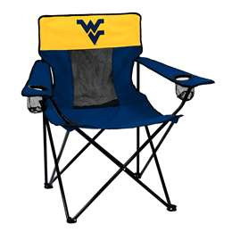 University of West Virginia Mountaineers Elite Folding Chair with Carry Bag