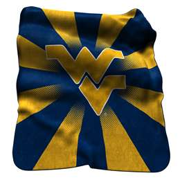 West Virginia Raschel Throw