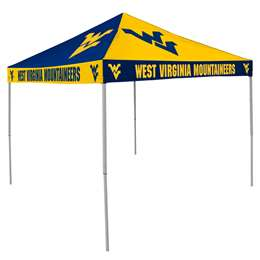 University of West Virginia Mountaineers 9 X 9 Checkerboard Canopy - Tailgate Tent