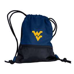University of West Virginia Mountaineers String Pack Tote Bag Backpack Carry Case