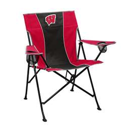 University of Wisconsin Badgers Pregame Chair Folding Tailgate