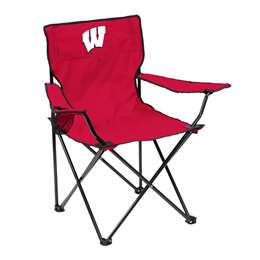 University of Wisconsin Badgers Quad Folding Chair with Carry Bag