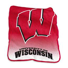University of Wisconsin Badgers Raschel Throw Blanket - 50 X 60 in.