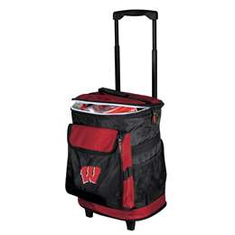 University of Wisconsin Badgers 48 Can Rolling Cooler