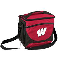 University of Wisconsin Badgers 24 Can Cooler