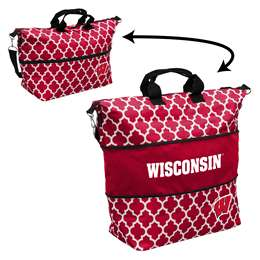 University of Wisconsin Badgers Expandable Carry Tote Bag