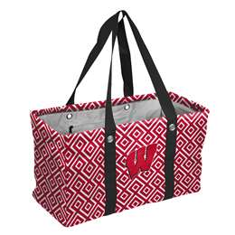 University of Wisconsin Badgers  Double Diamond Picnic Caddy
