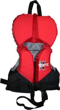 FuzionX 4-Belt Infant Ski Vest