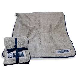 "Georgetown University Hoyase Frosty Fleece Blanket 60"" X 50"""