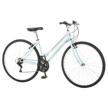 Pacific Women's Trellis Hybrid Bicycle, Blue, 16 inch Frame