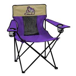 James Madison University Elite Folding Chair with Carry Bag