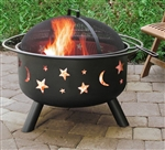 Landmann Firepit with Accessories Big Sky Stars and Moons