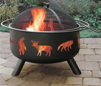 Landmann Firepit with Accessories - Big Wildlife