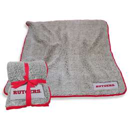 "Rutgers University Scarlet Knights Frosty Fleece Blanket 60"" X 50"""