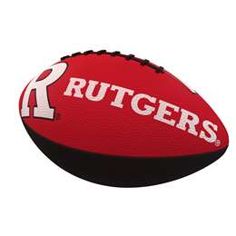 Rutgers University Scarlet Knights Junior Size Rubber Football