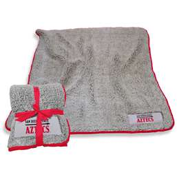 "San Diego State University Frosty Fleece Blanket 60"" X 50"""