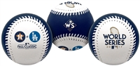 2017 World Series Dueling Teams Rawlings Baseball Los Angeles Dodgers vs. Houston Astros