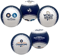 2017 World Series Houston Astros Rawlings Baseball Collection