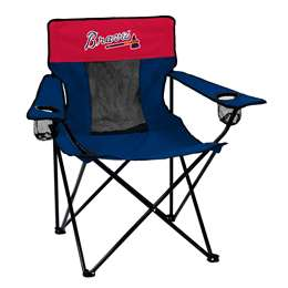 Atlanta Braves Deluxe Chair Folding Tailgate Camping Chairs