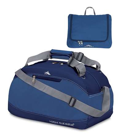 "High Sierra 20"" Pack-N-Go Duffel Blue"