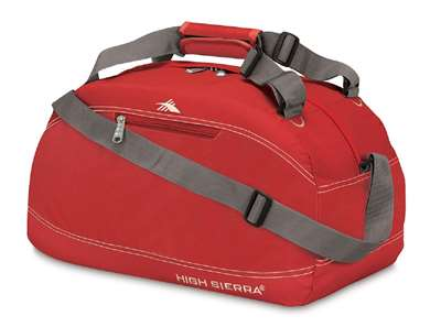 "High Sierra 24"" Pack-N-Go Duffel Red"