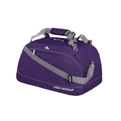 "High Sierra 24"" Pack-N-Go Duffel Purple"